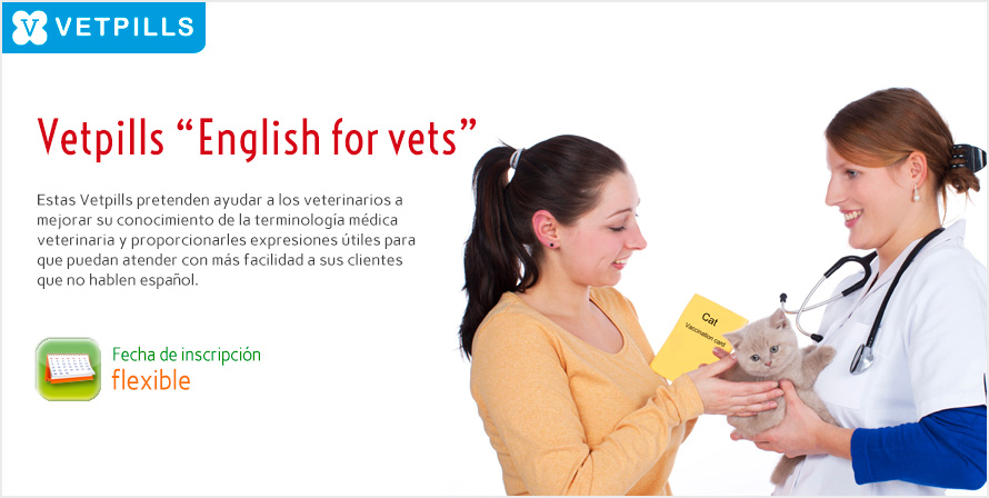 "Vetpills ""English for vets"" (Programa completo)"